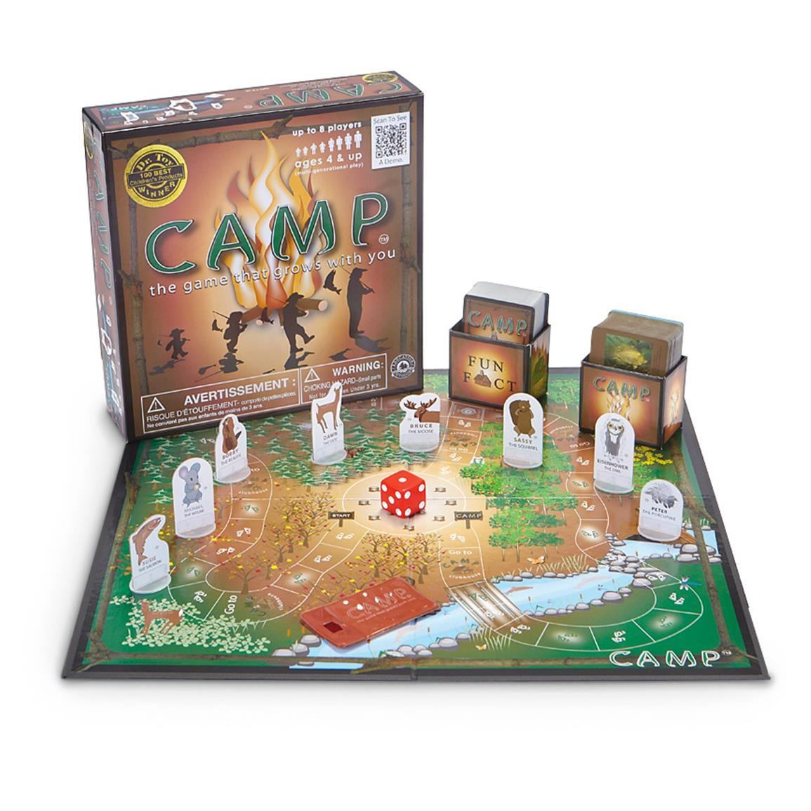 Camp Board Game 616355 Puzzles Games At Sportsman S Guide