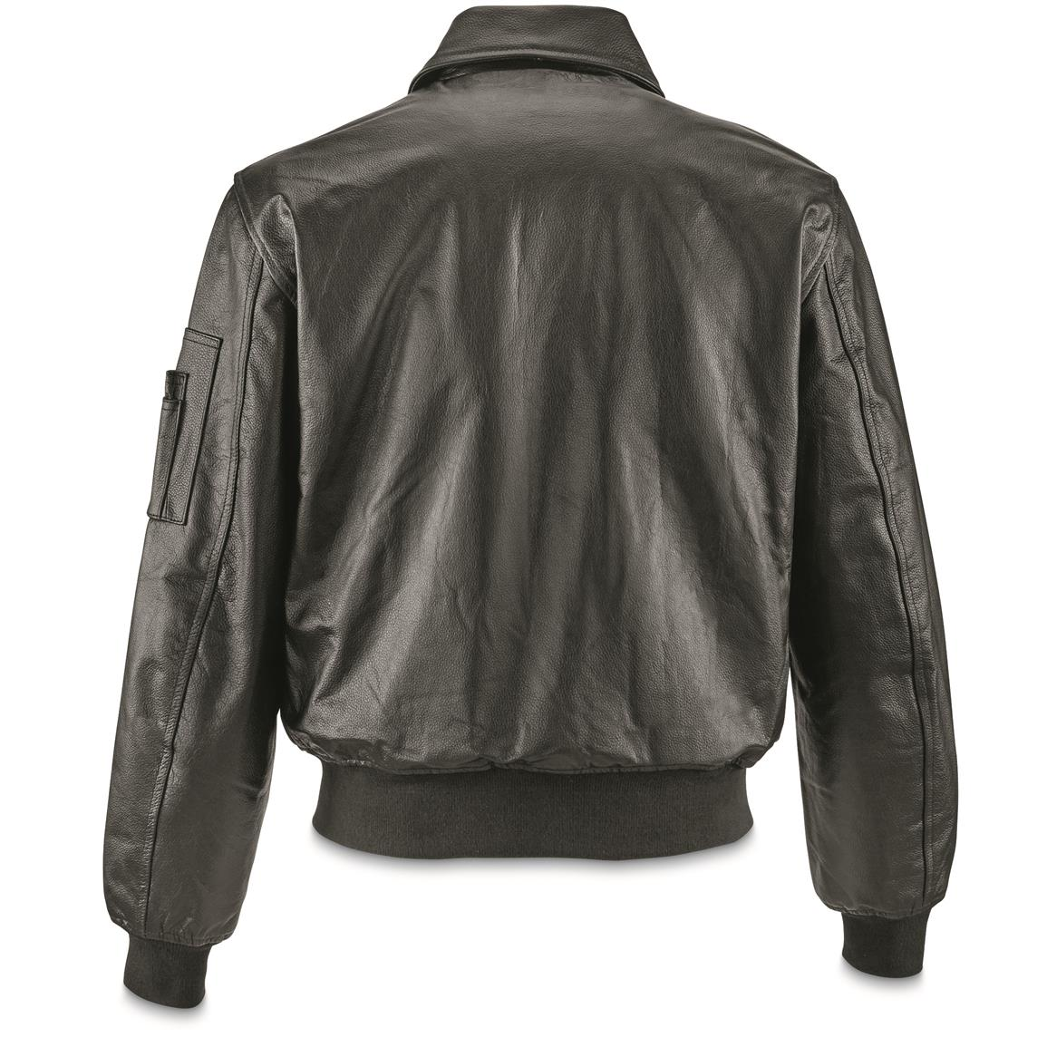 This 100% Leather Flight Jacket looks absolutely dashing on the outside