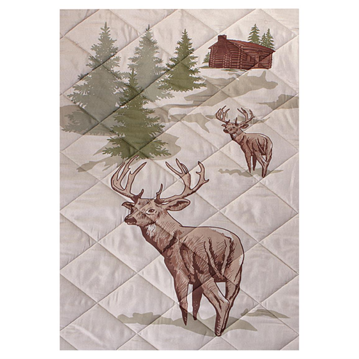 Picturesque whitetail design