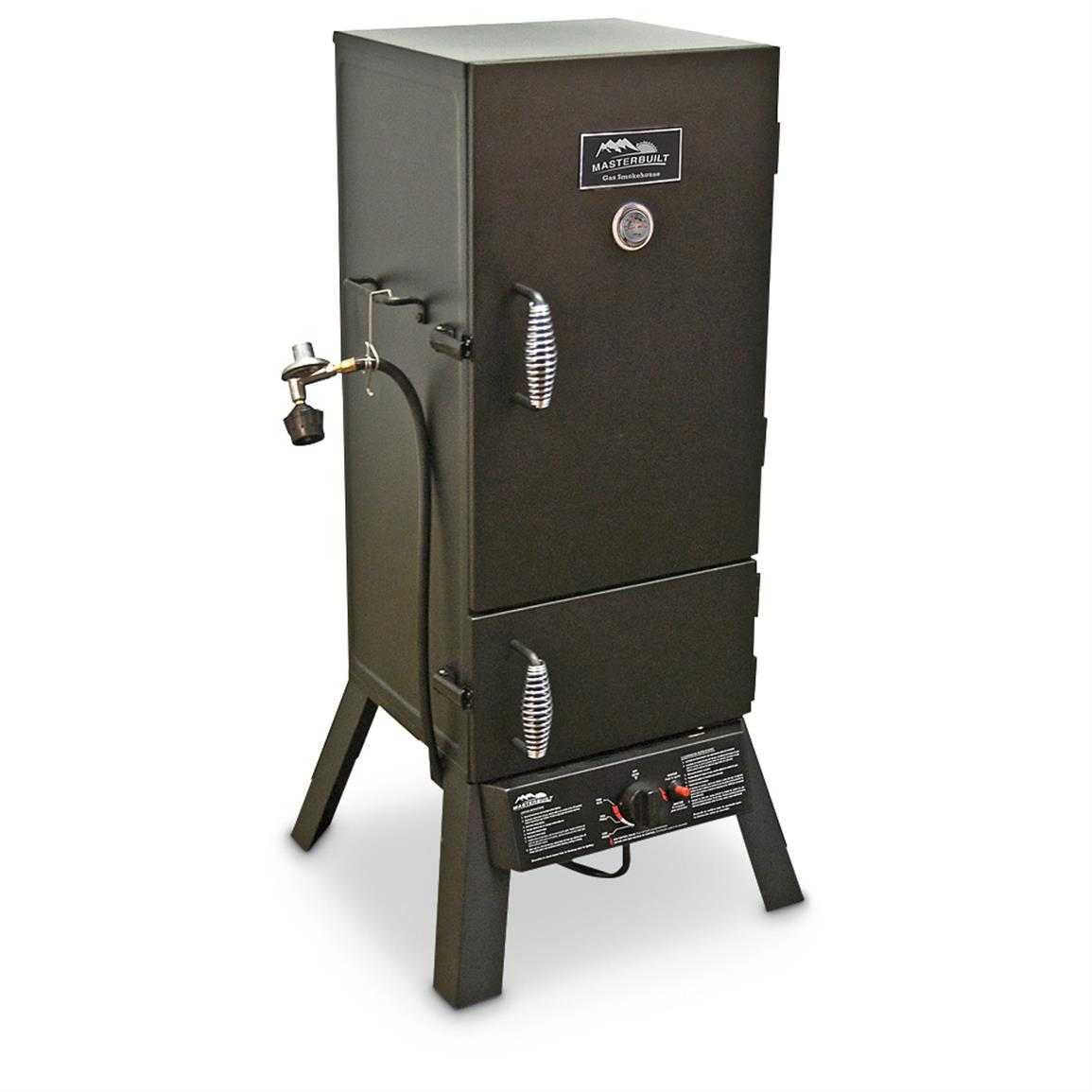 "Masterbuilt 30"" 2-door Vertical Gas Smoker"