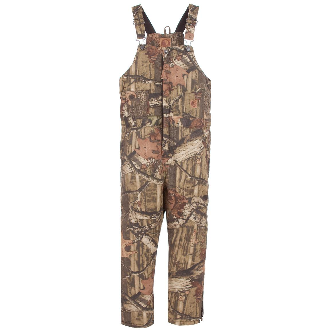 Berne Stag Insulated Camo Overalls, Mossy Oak Break-up® Infinity™