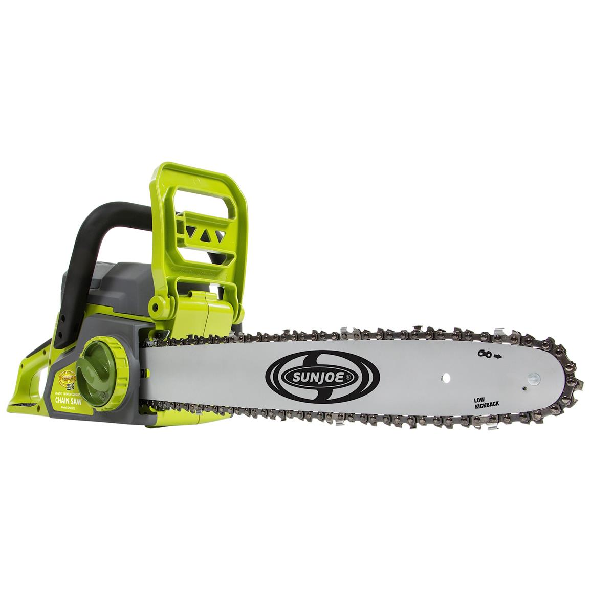 Sun Joe iON 16 inch 40V Rechargeable Cordless Chainsaw