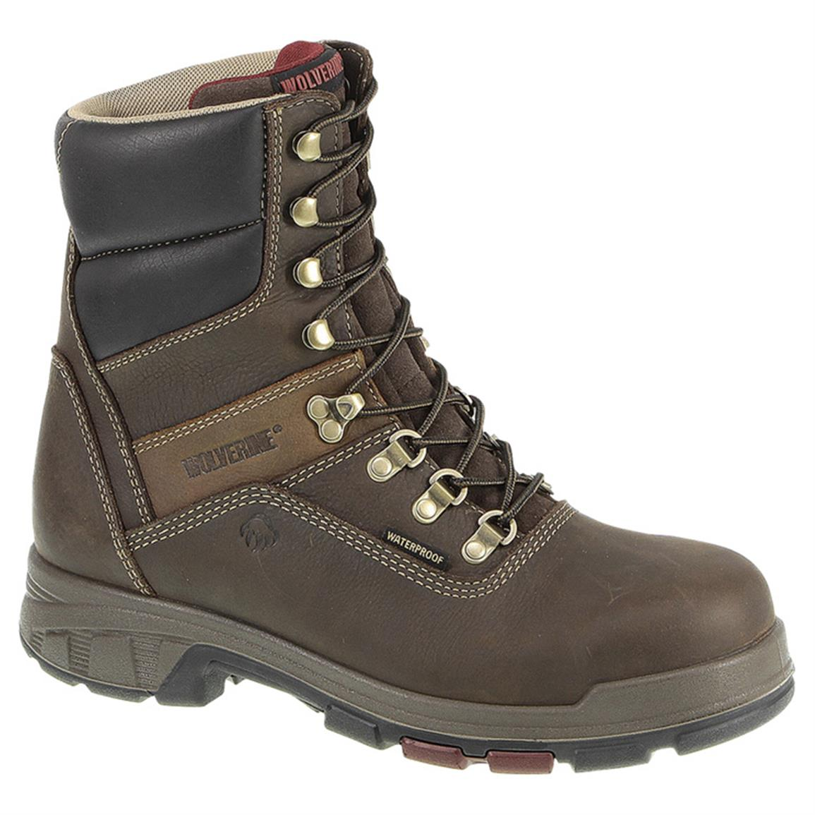 Men's Wolverine® 8 inch Cabor EPX Waterproof Work Boots
