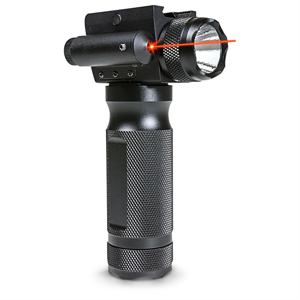 Firefield 230-lumen Flashlight Foregrip with Red Laser