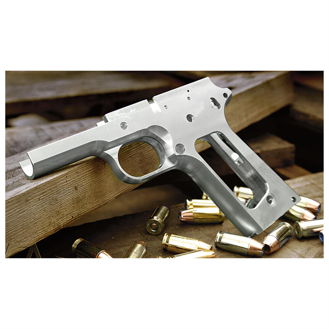 Stealth Arms 1911 80% Lower Receiver - 618881, Replacement Parts at ...