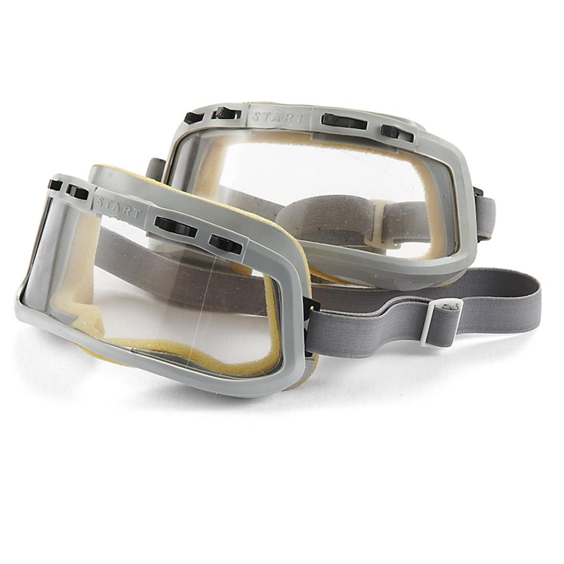 German Military Surplus Rubberized Goggles