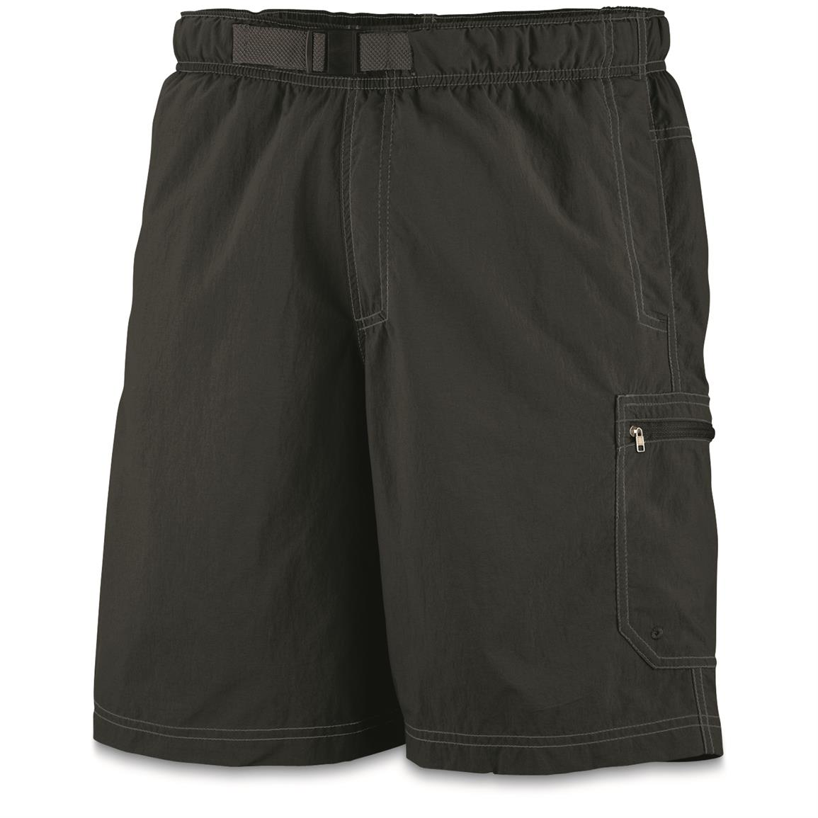 Columbia Men's Palmerston Peak Water Shorts, Black • Front