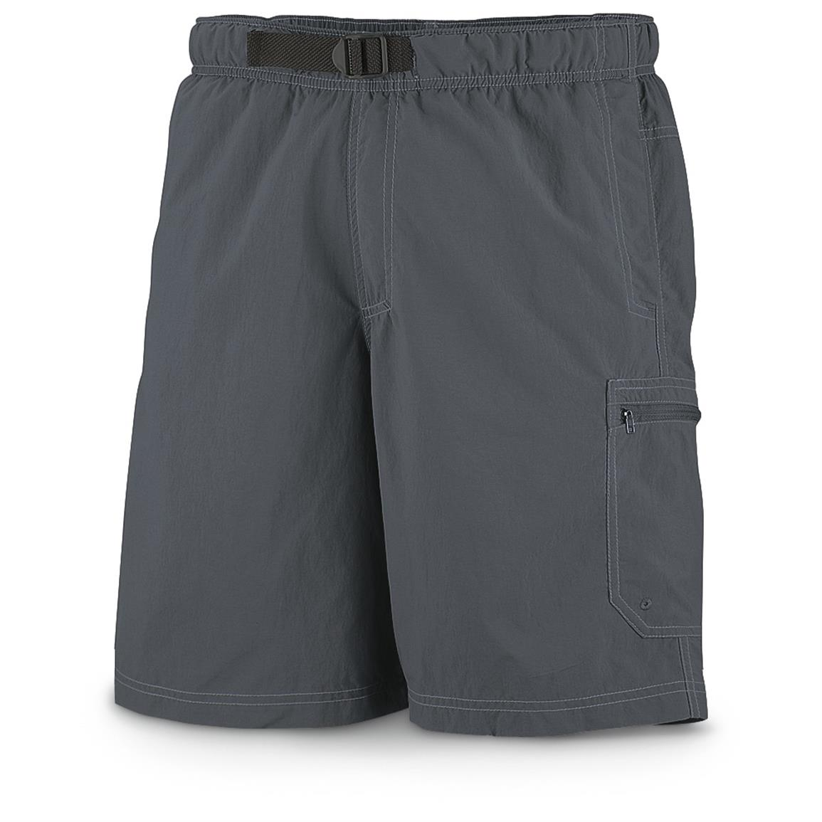 Columbia Men's Palmerston Peak Water Shorts, Gray Ash