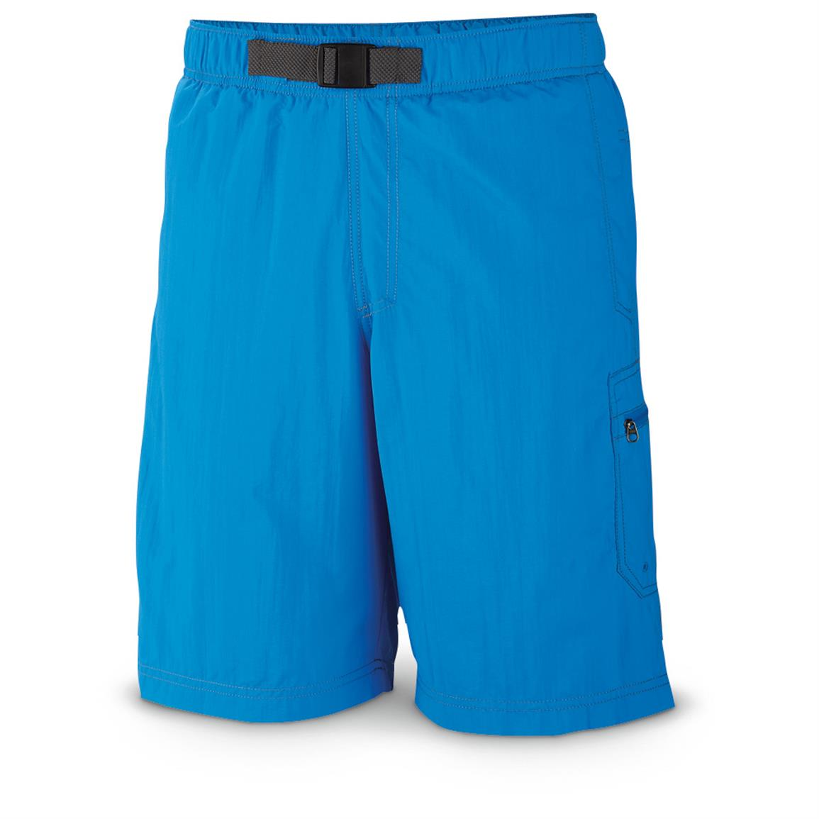 Columbia Men's Palmerston Peak Water Shorts, Hyper Blue • Front