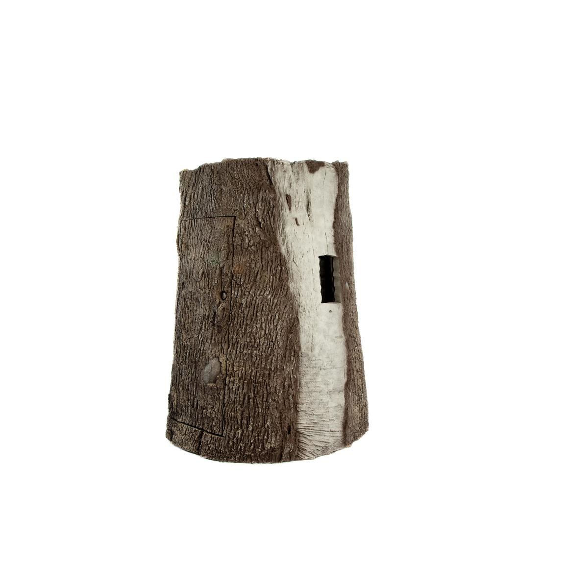 Realistic bark texture with no right angles or straight lines is UV resistant