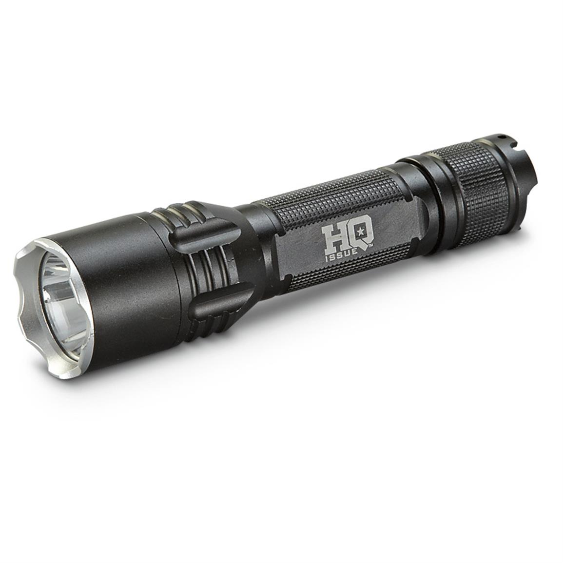 HQ ISSUE® Tactical LED Flashlight, 650 Lumen