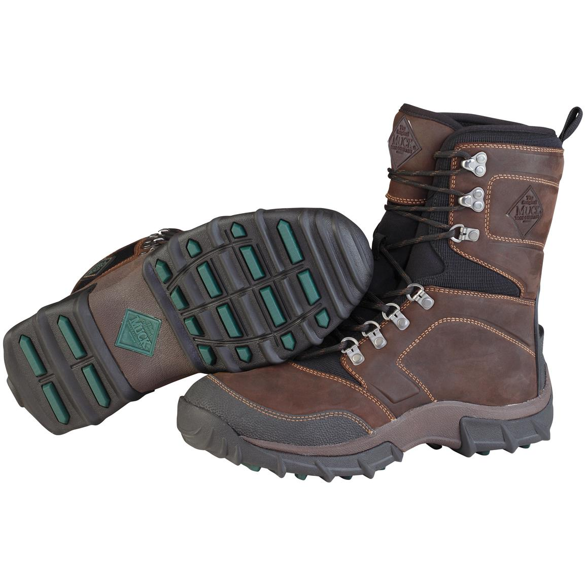 Muck Boots® Peak Hardcore Hiking Boots, Brown / Black