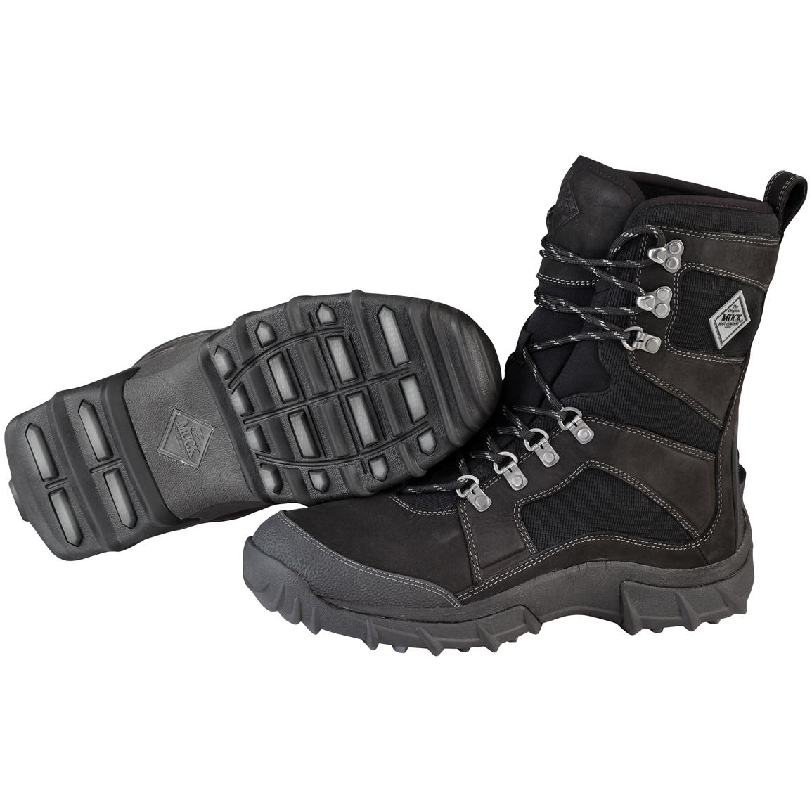 Muck Boots® Peak Essential Boots, Black / Charcoal