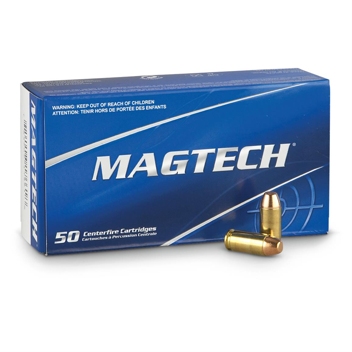 Magtech, 9mm Luger, FMJ, 115 Grain, 1,000 Rounds