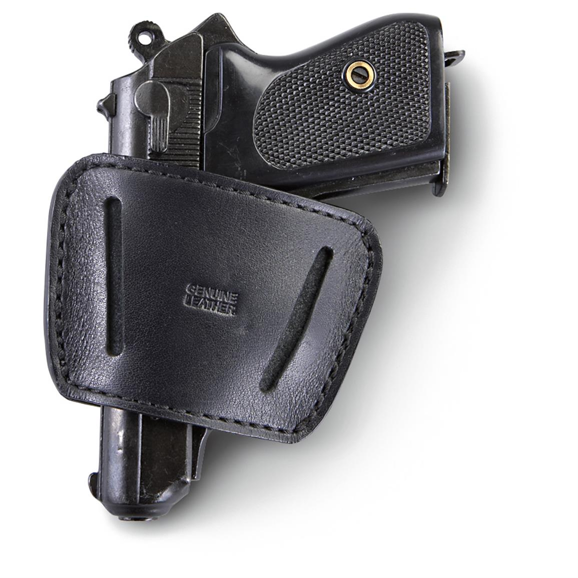 Homeland Conceal Small Belt Slide Holster, Black