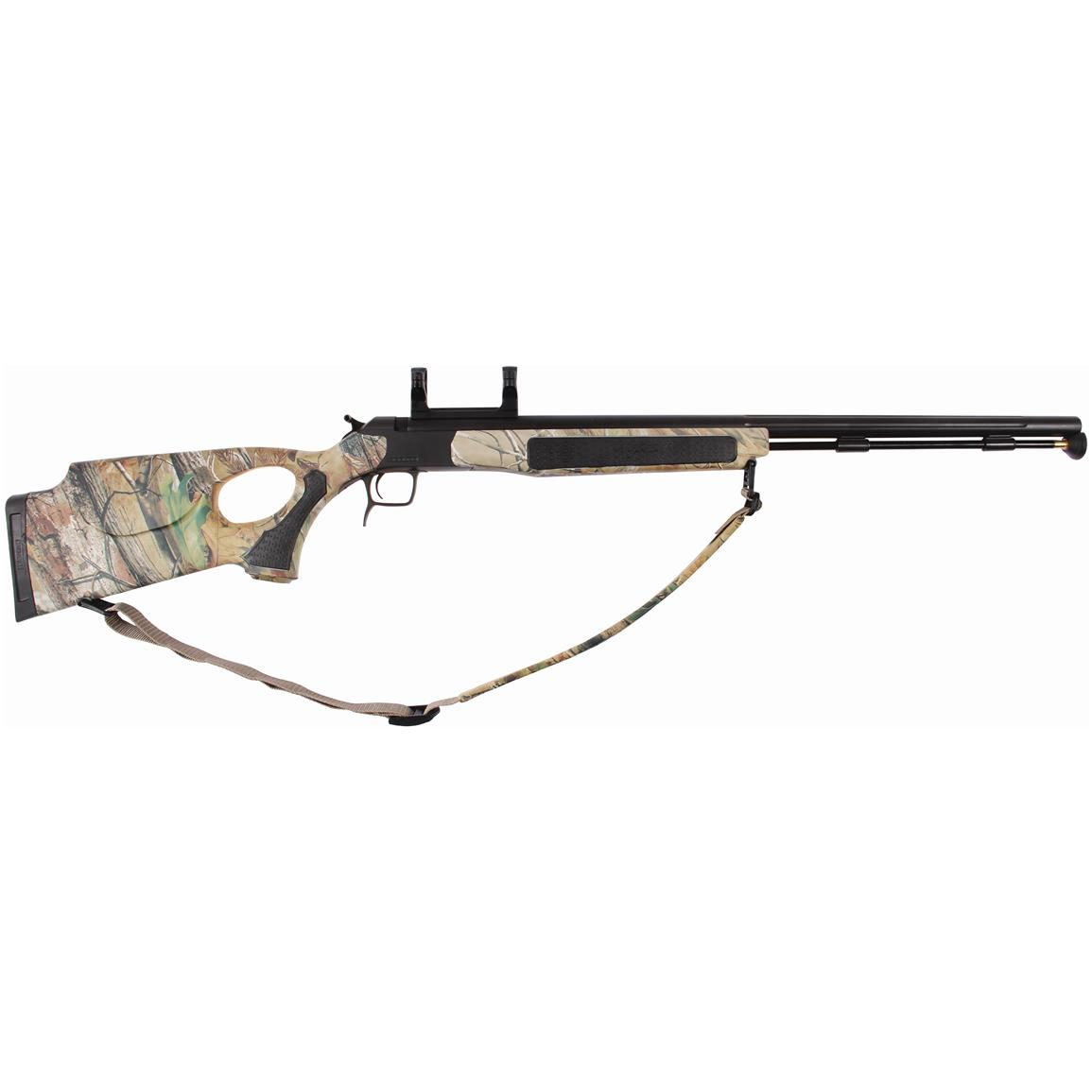 CVA Accura V2  50 Cal  Muzzleloader with Scope Mount, Realtree APG