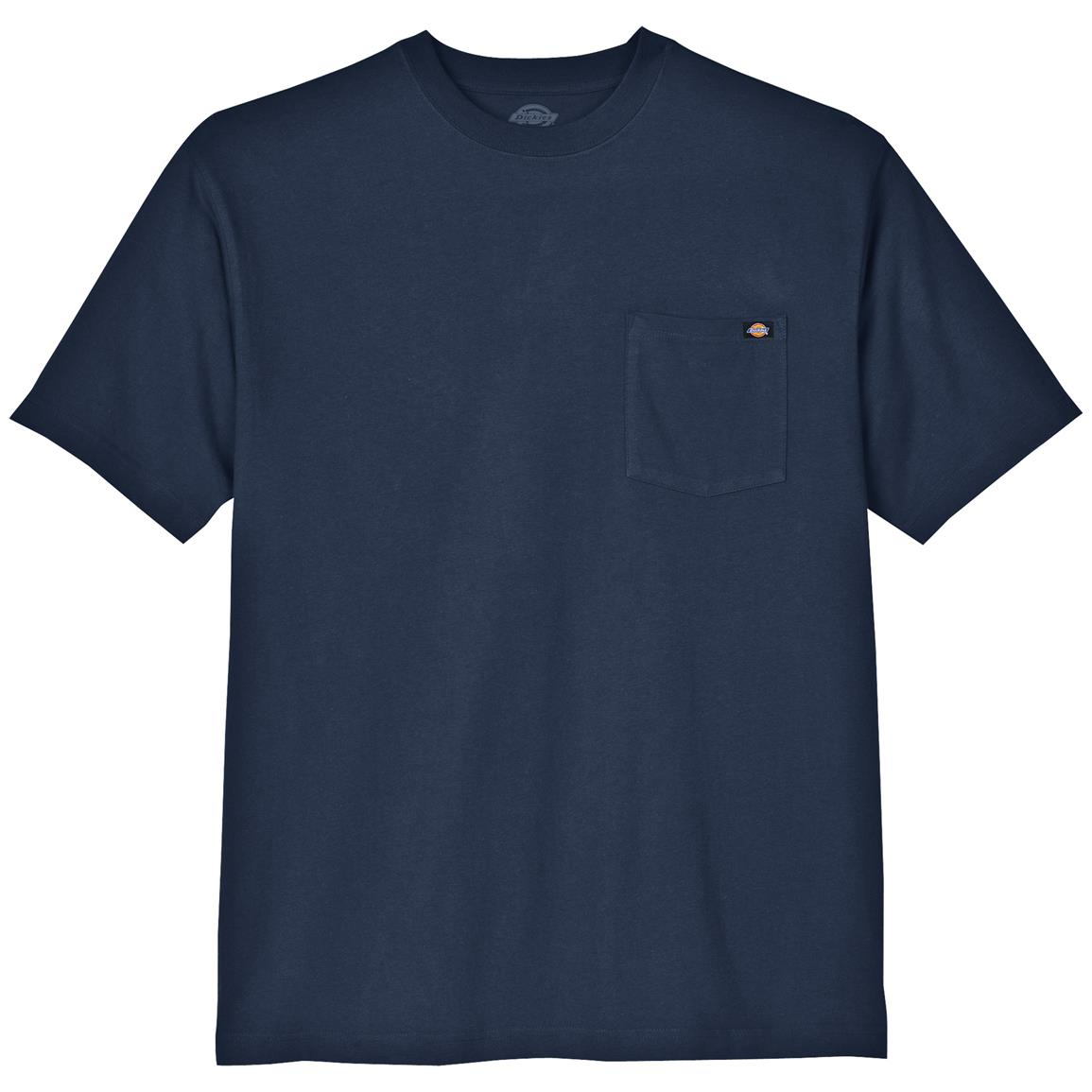 Dickies® Short-sleeved Heavyweight Crew Neck T-shirt, Dark Navy