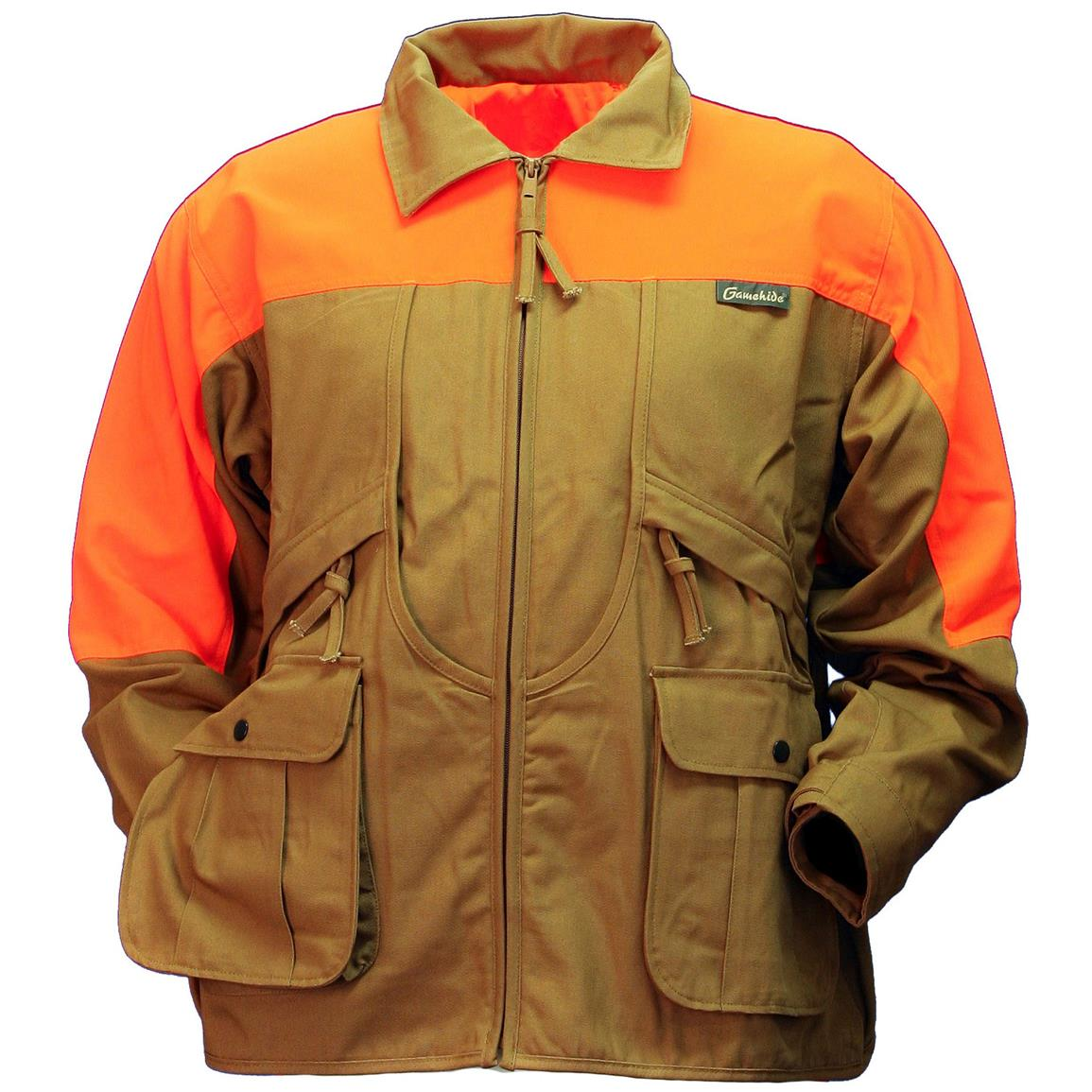 Gamehide Rooster Upland Jacket, Marsh Brown / Orange