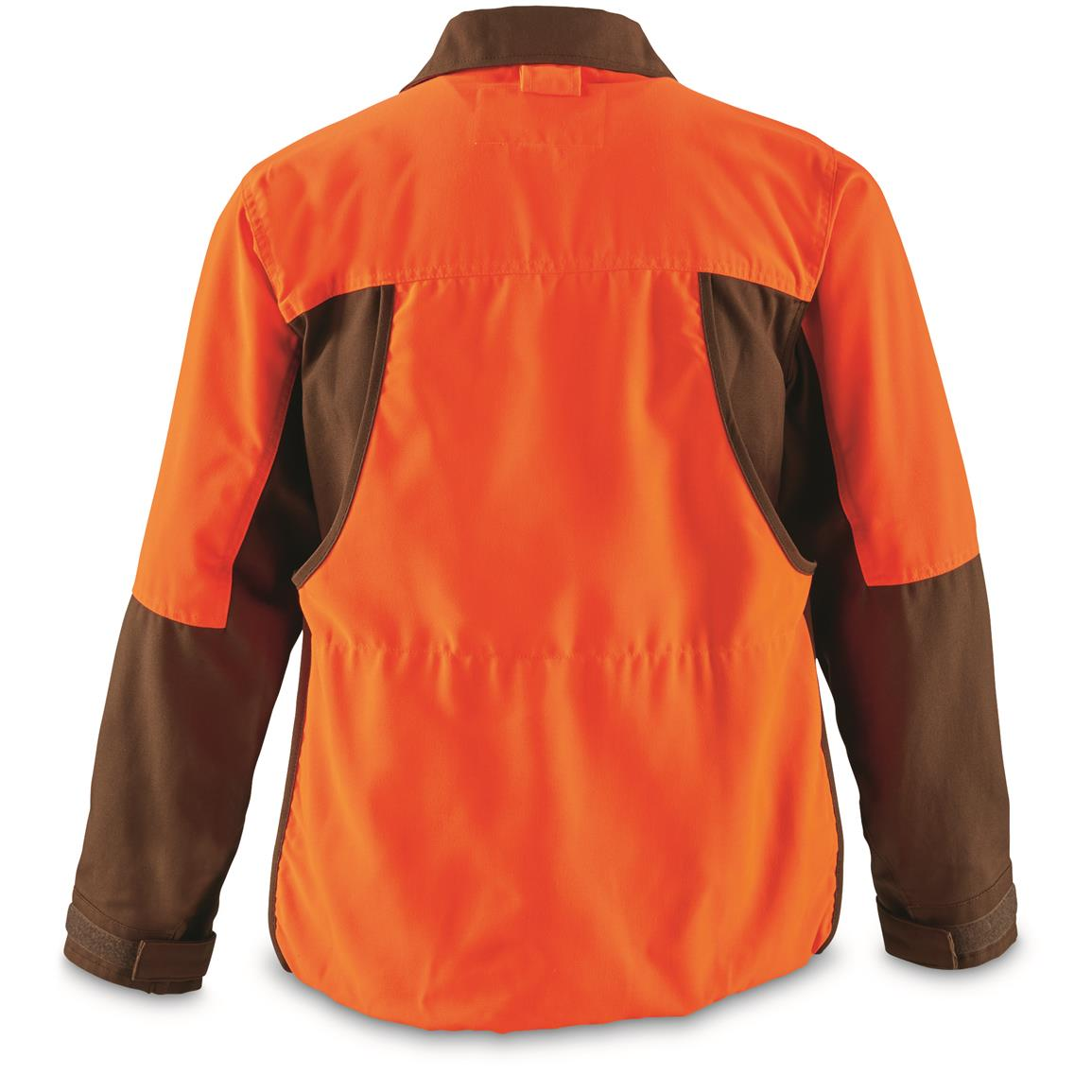 Brown / Orange Front and rear-loading nylon game pouches