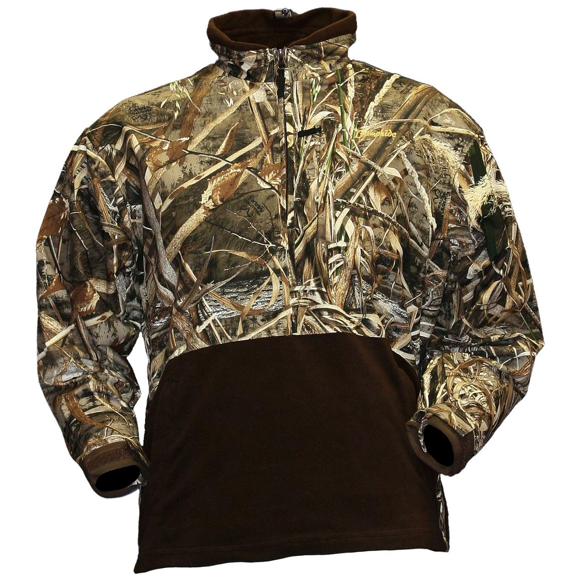 Gamehide Marsh Lord Waterproof / Breathable Camo Pullover Jacket ...