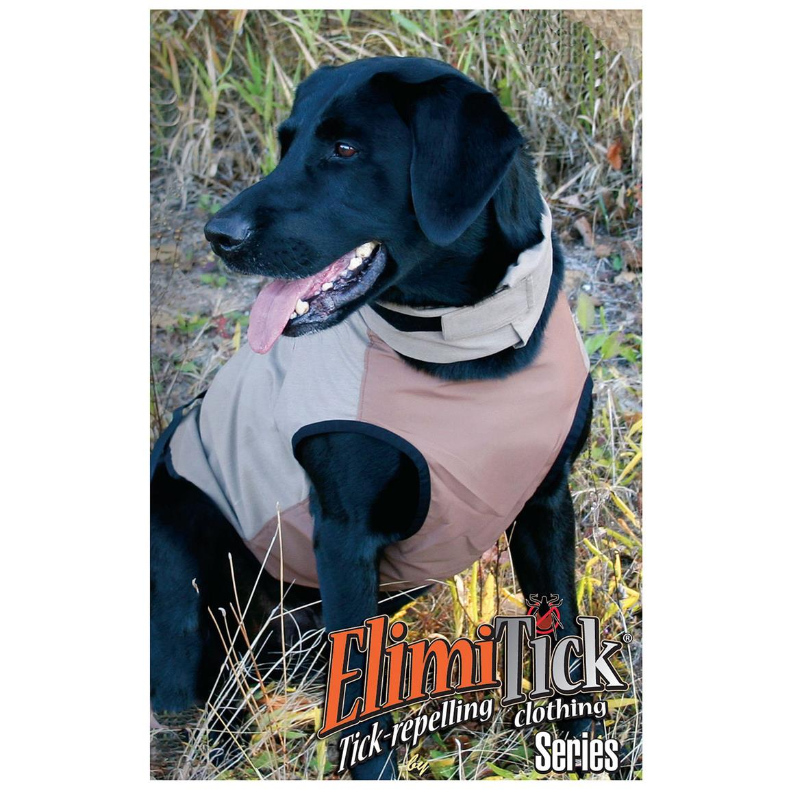 Gamehide® ElimiTick Dog Vest, Tan