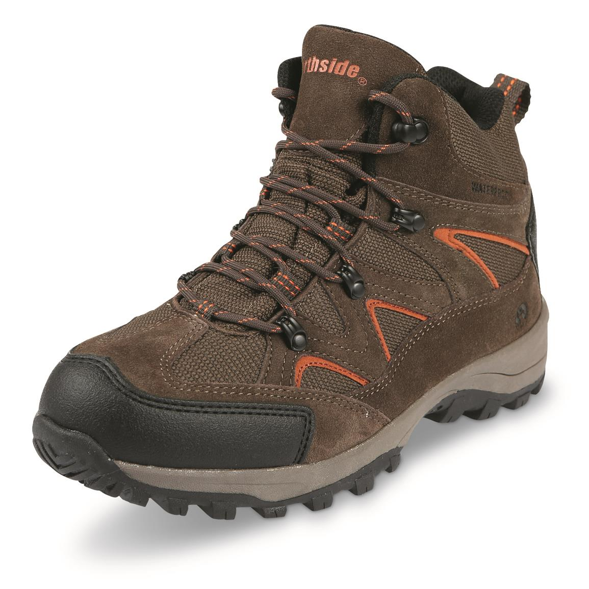 Northside Men's Snohomish Waterproof Mid Hiking Boots, Bark