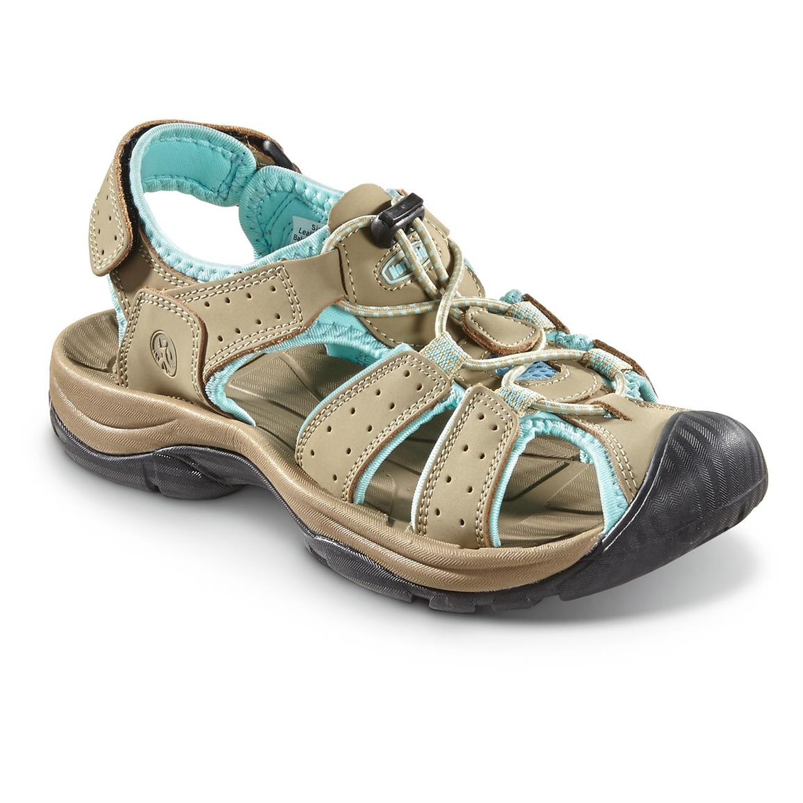 Northside Women's Trinidad Water Shoes, Tan / Aqua