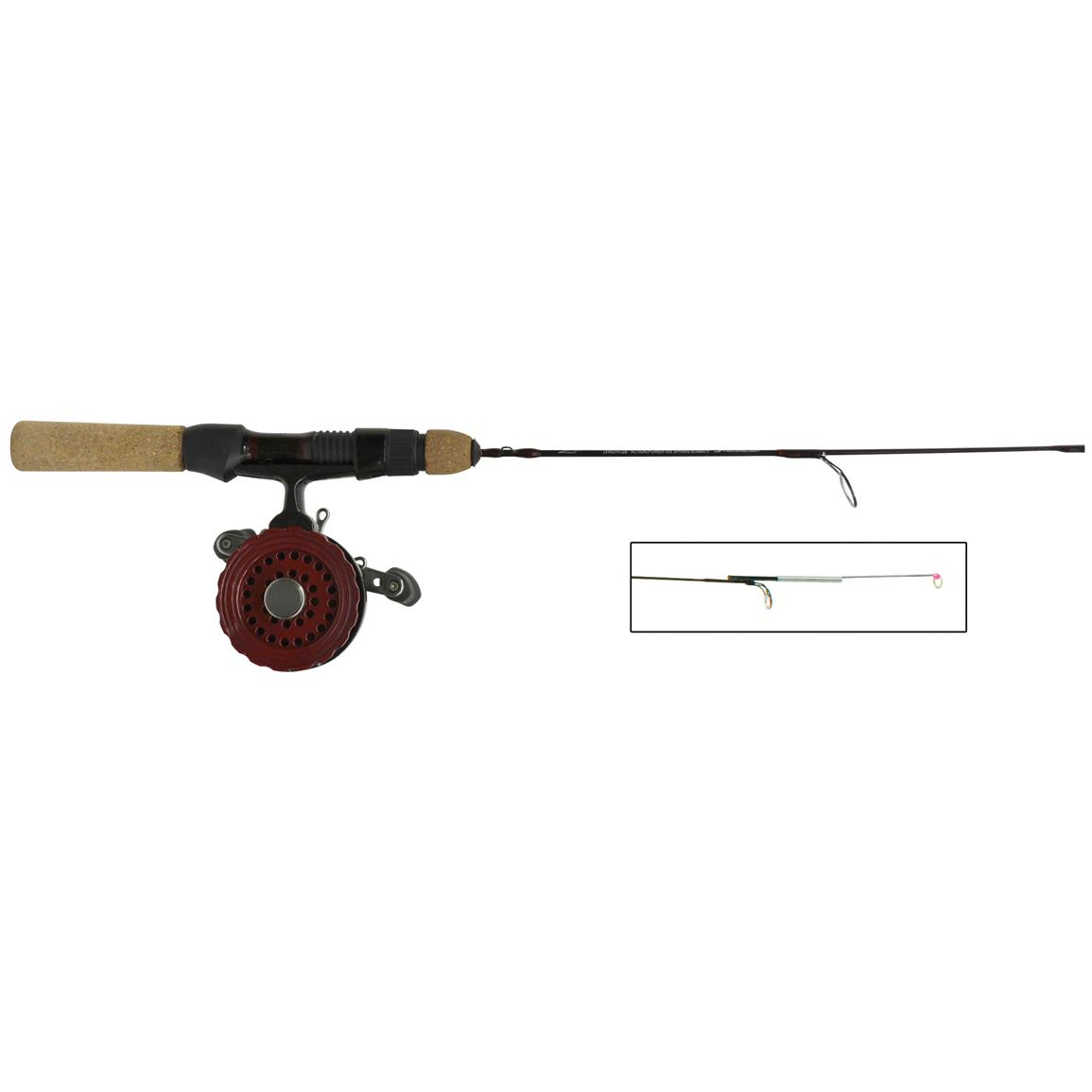 Eagle Claw Tony Roach Spring Bobber Inline Rod & Reel Combo
