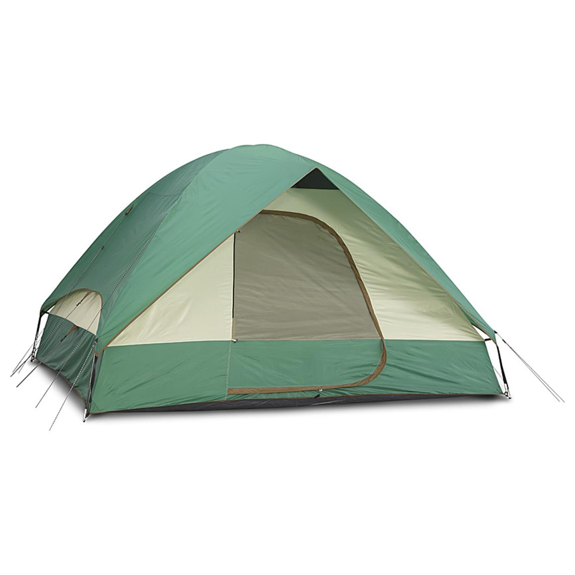 Guide Gear Compass 5 Person Dome Tent, 11' x 9', With Rainfy