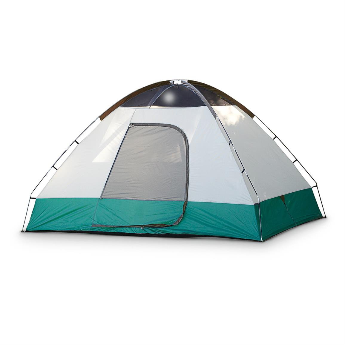 Guide Gear Compass 5 Person Dome Tent, 11' x 9', Without Rainfly
