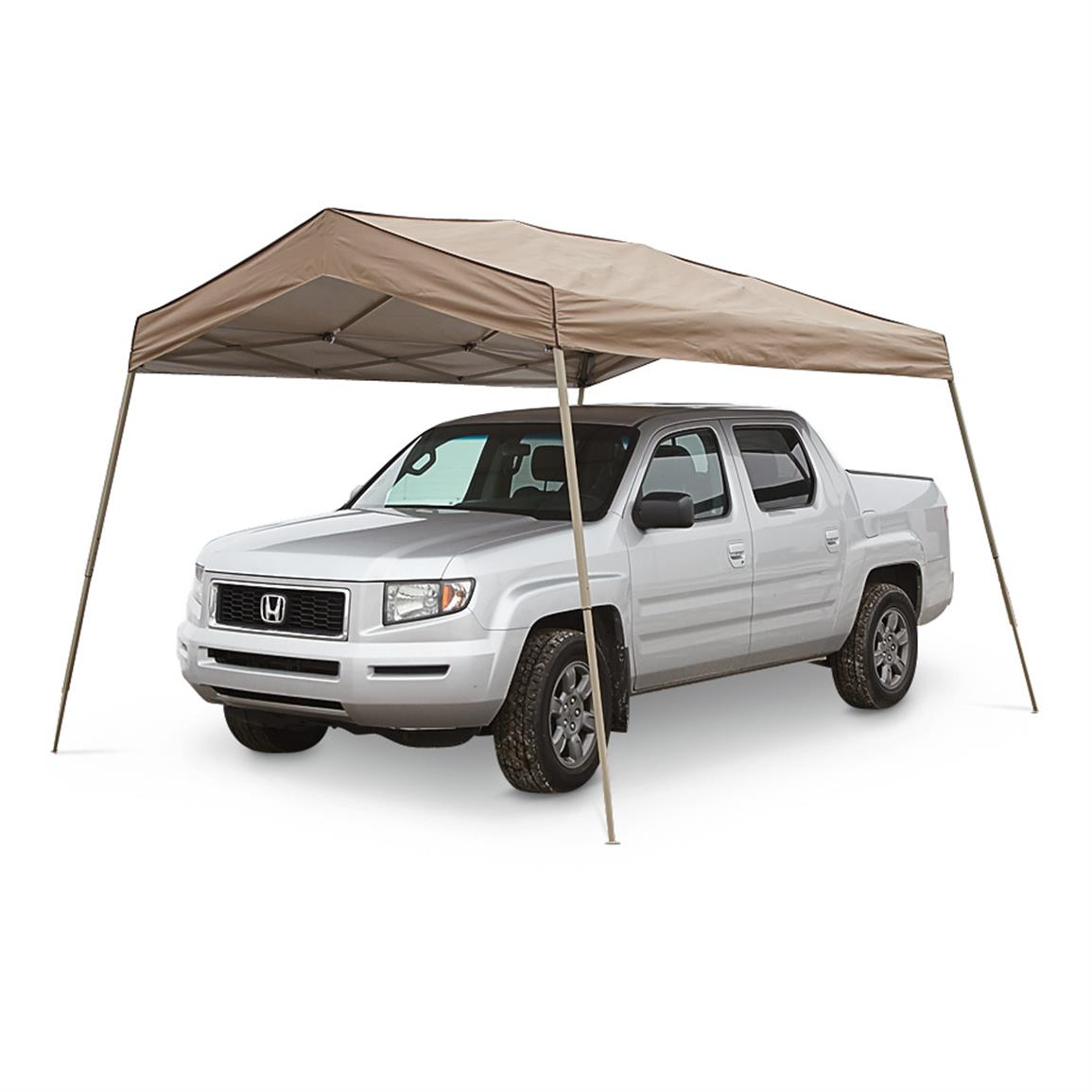 Cool shade for the whole gang or a vehicle