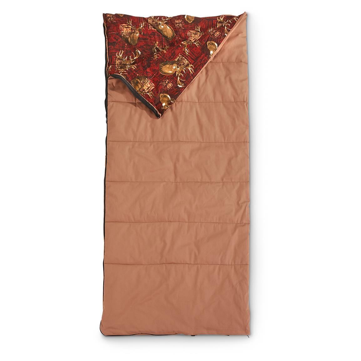Guide Gear Legacy Canvas Sleeping Bag, 0 Degree