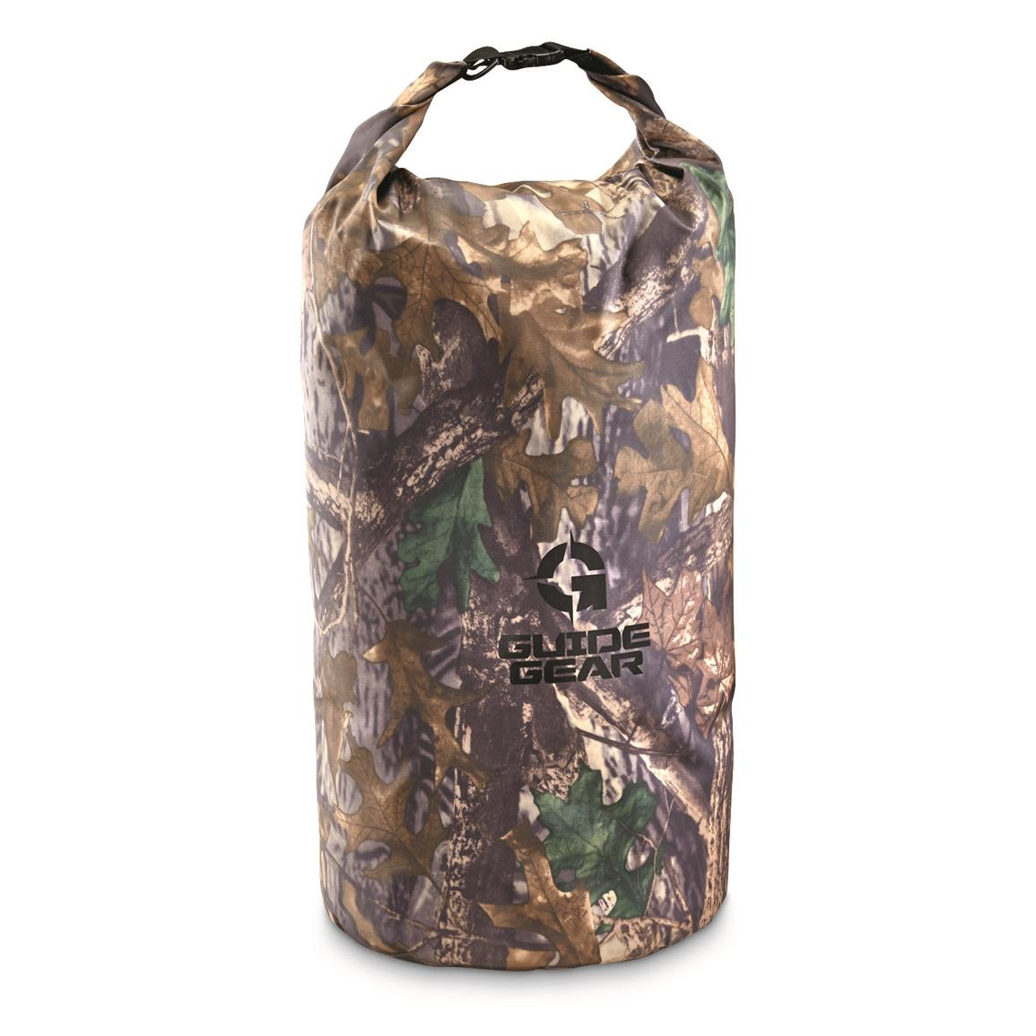 Guide Gear Roll-Top Waterproof Dry Bag, 60 Liter, Camo