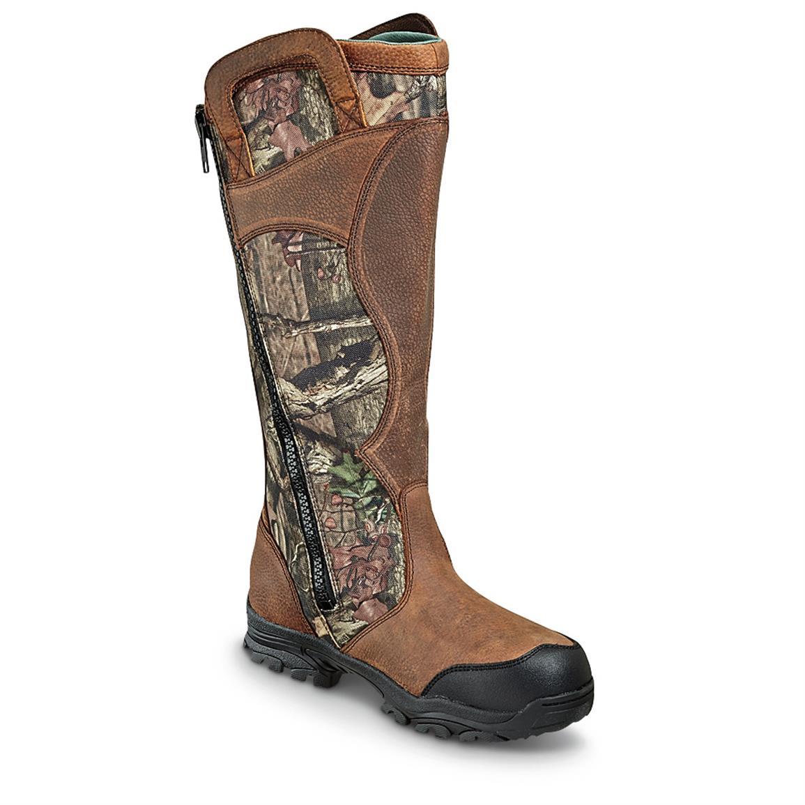 Wood N Stream 17 Quot Side Zip Snake Boots 624129 Hunting