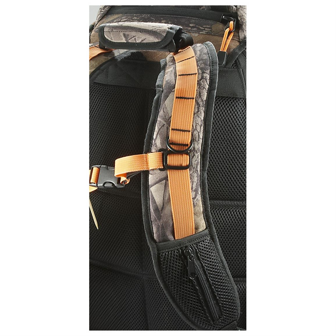 Ergonomic adjustable shoulder straps for comfortable carry