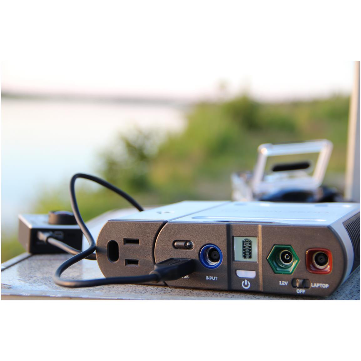 Sidecar port (input): 9-13V, up to 10A (120W max)
