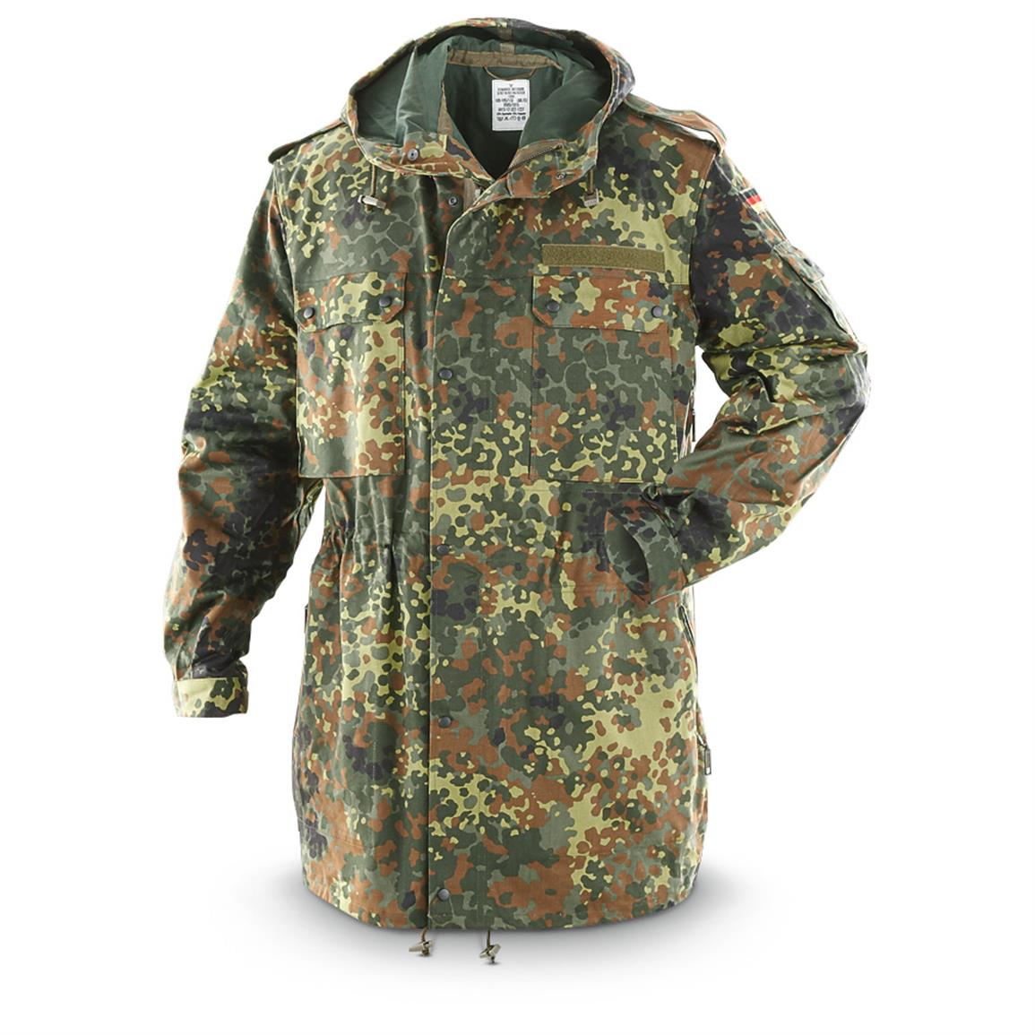 New German Military Surplus GORE-TEX Parka