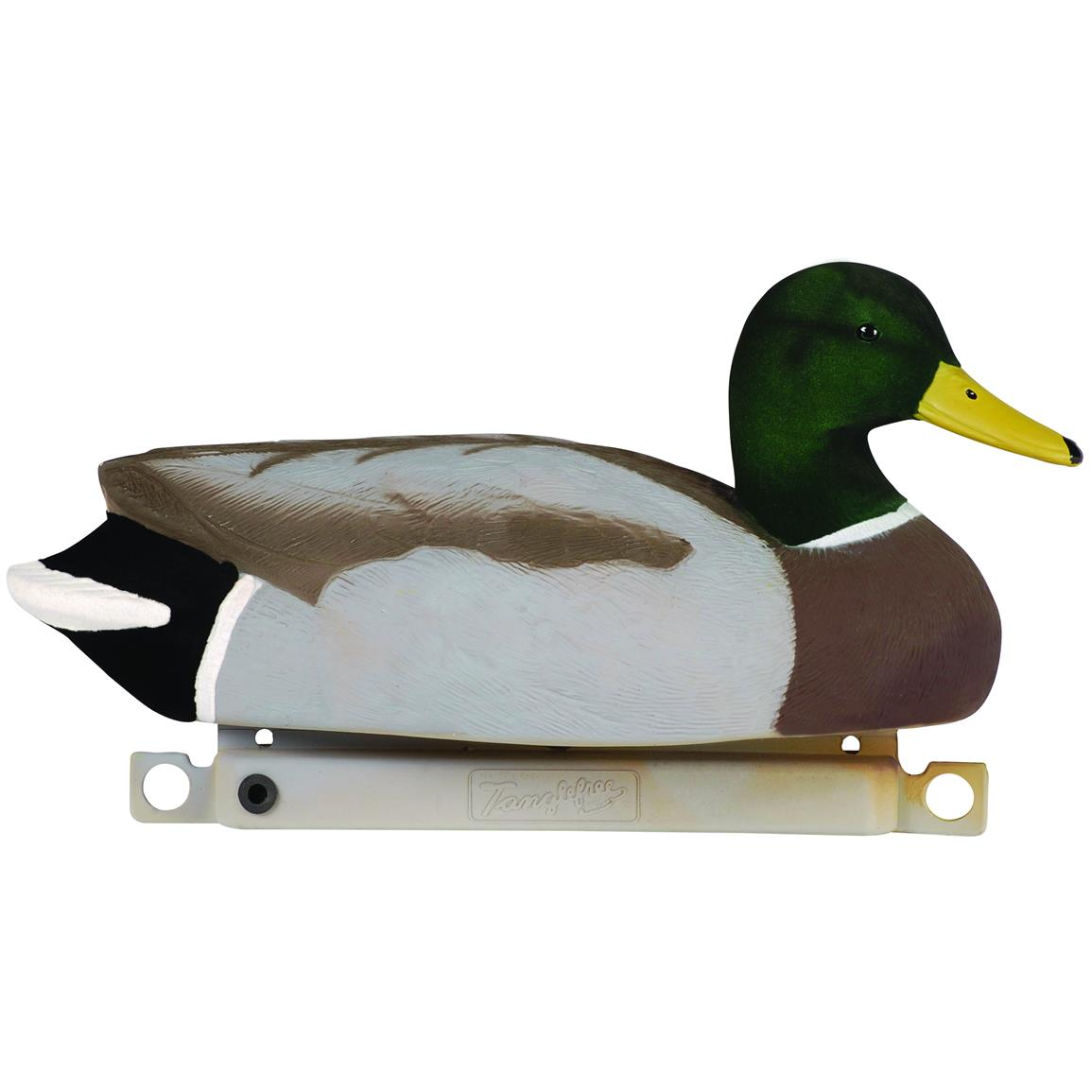 Tanglefree 6-Pc. Migration Edition Flocked Drake Mallard Duck Decoy Set