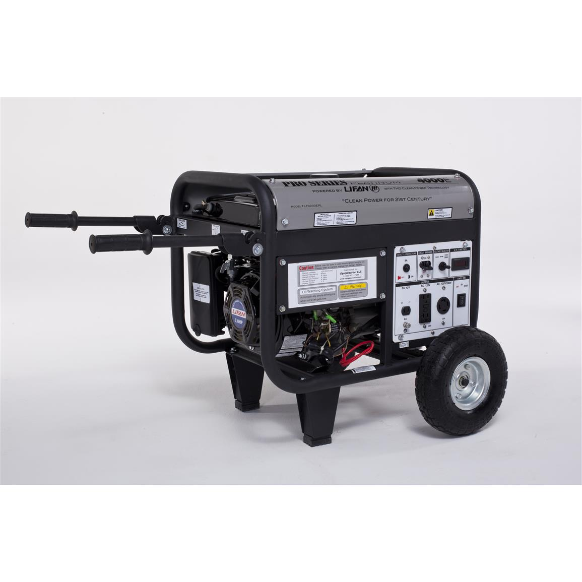 LIFAN Platinum Series 4,000W 7 hp CARB-certified Generator