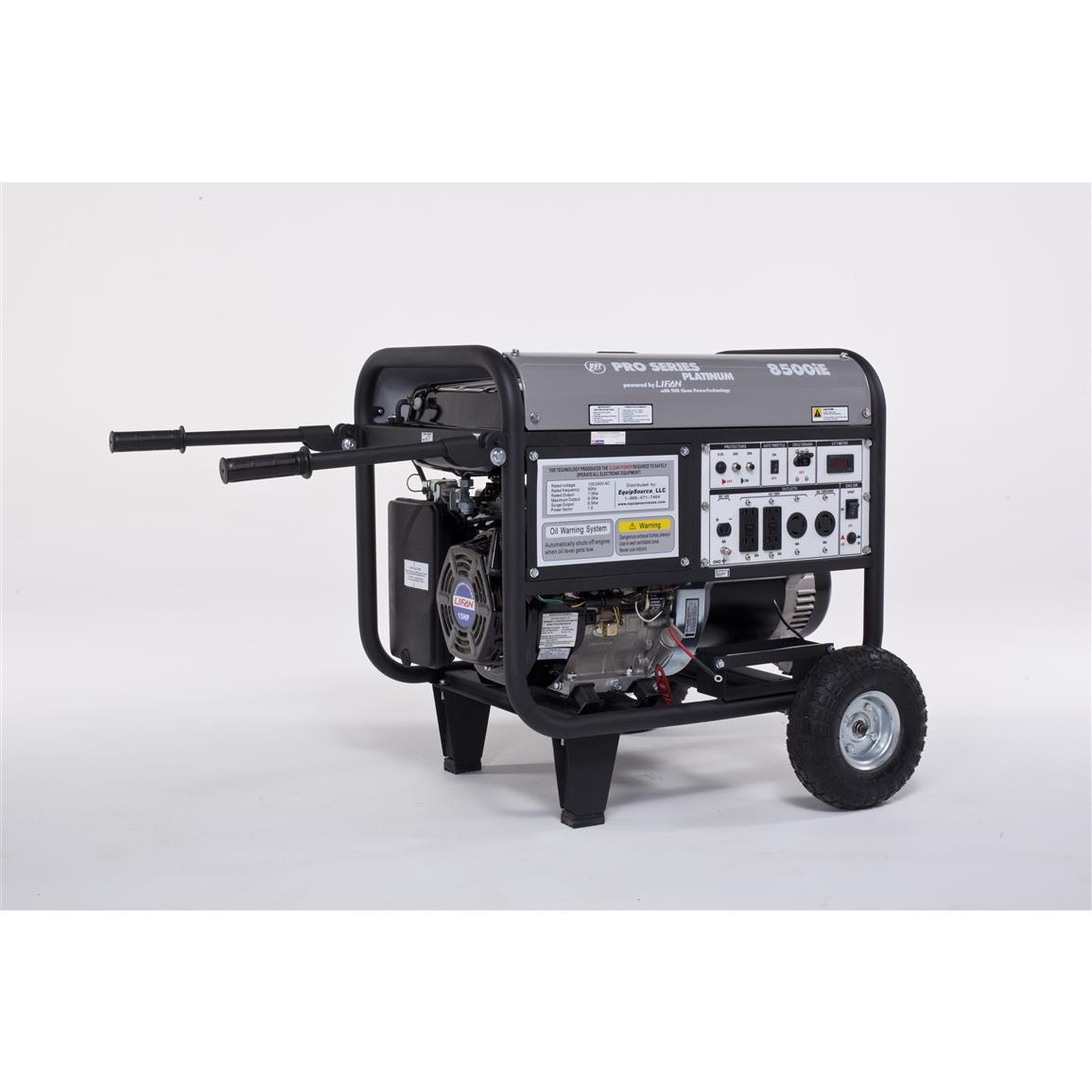 LIFAN Platinum Series 8,500W 15 hp CARB-certified Generator