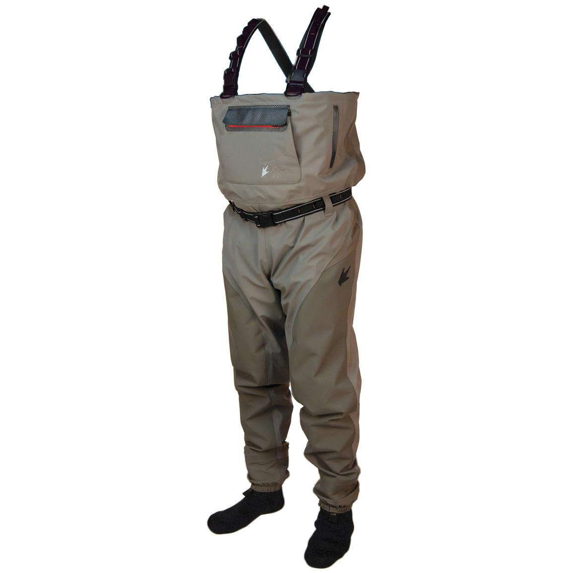 Frogg toggs anura ii reinforced nylon stockingfoot waders for Fishing waders reviews