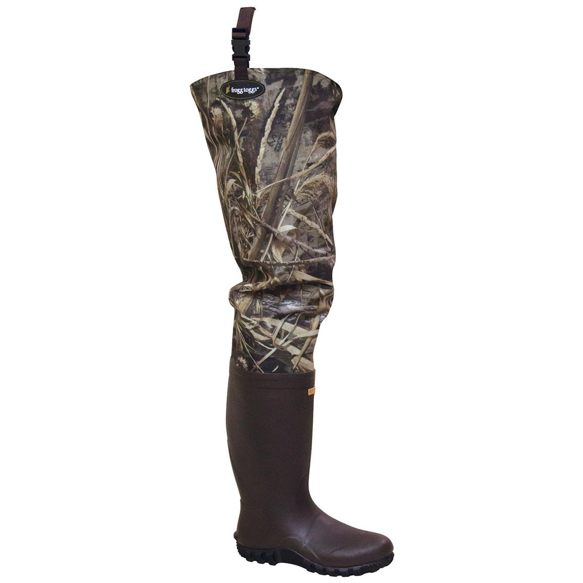 frogg toggs Bogg Togg Camo Cleated Bootfoot Hip Waders