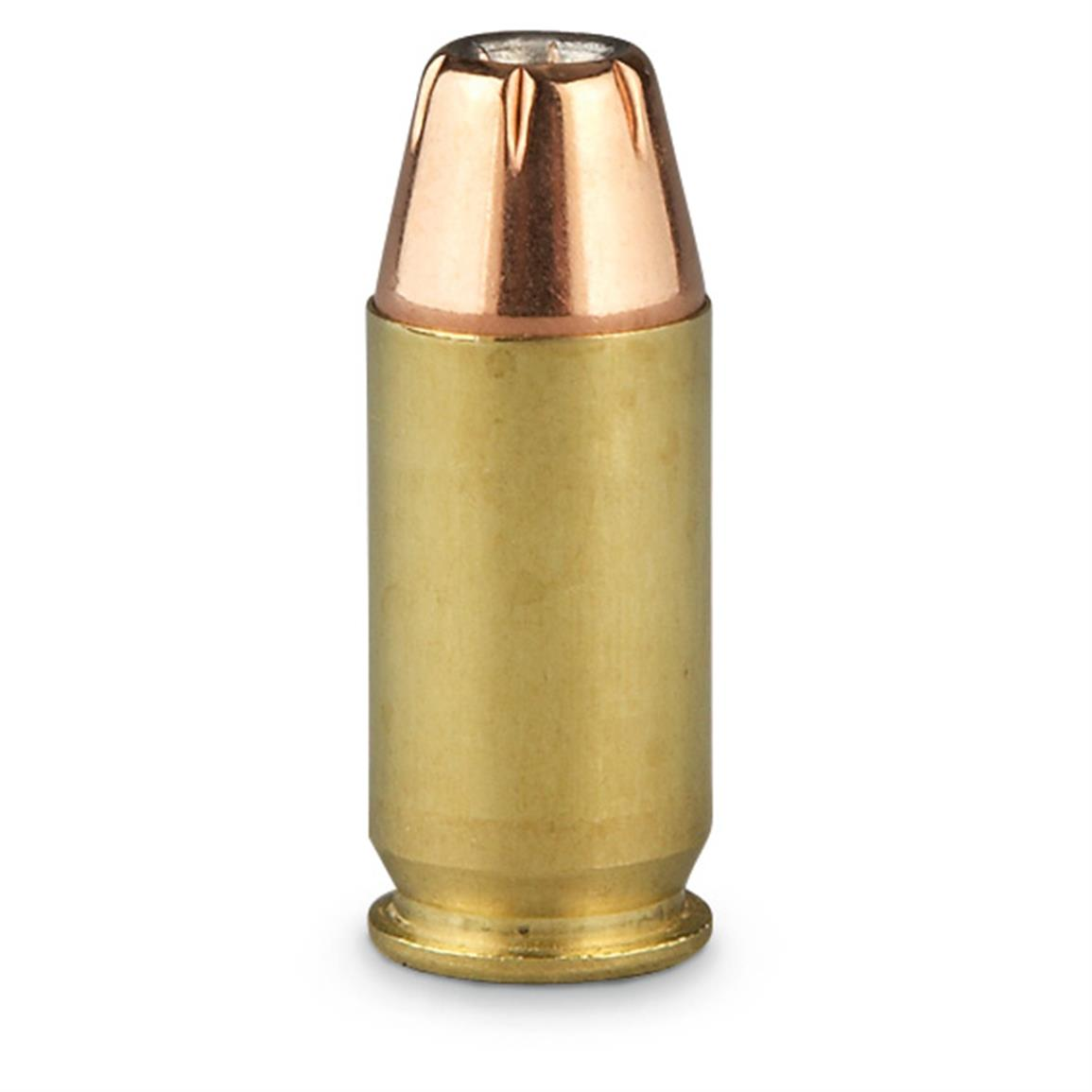 185 grain hollow-point bullet