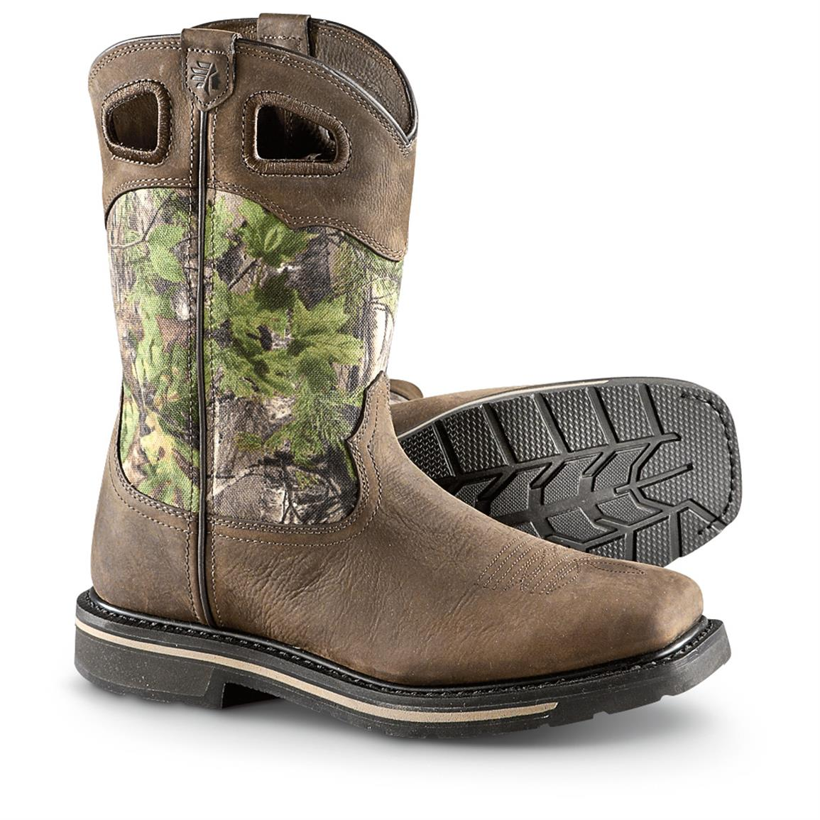 Lacrosse Tallgrass 11 Quot Camo Pull On Boots 633376 Work