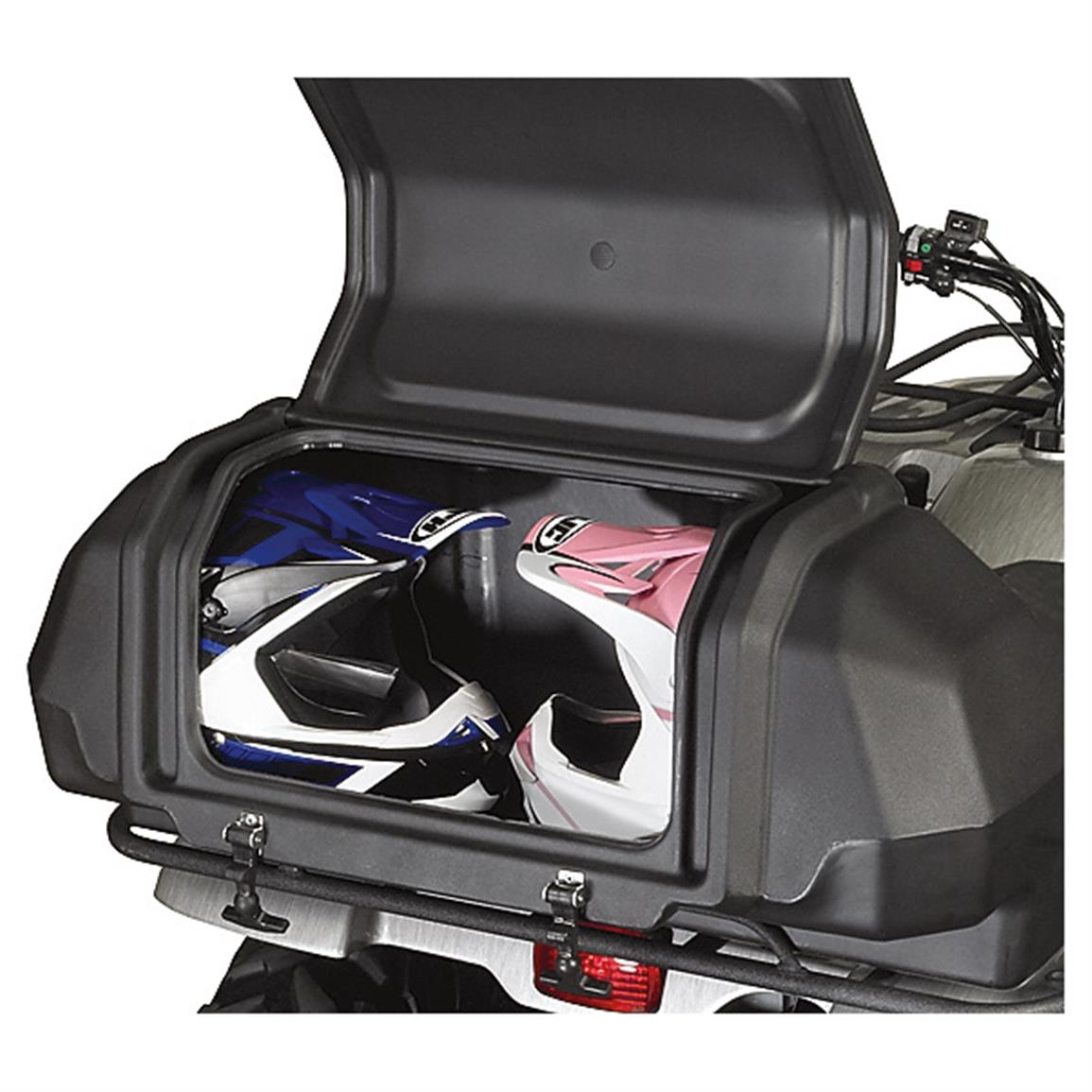 Roomy storage for helmets and more!