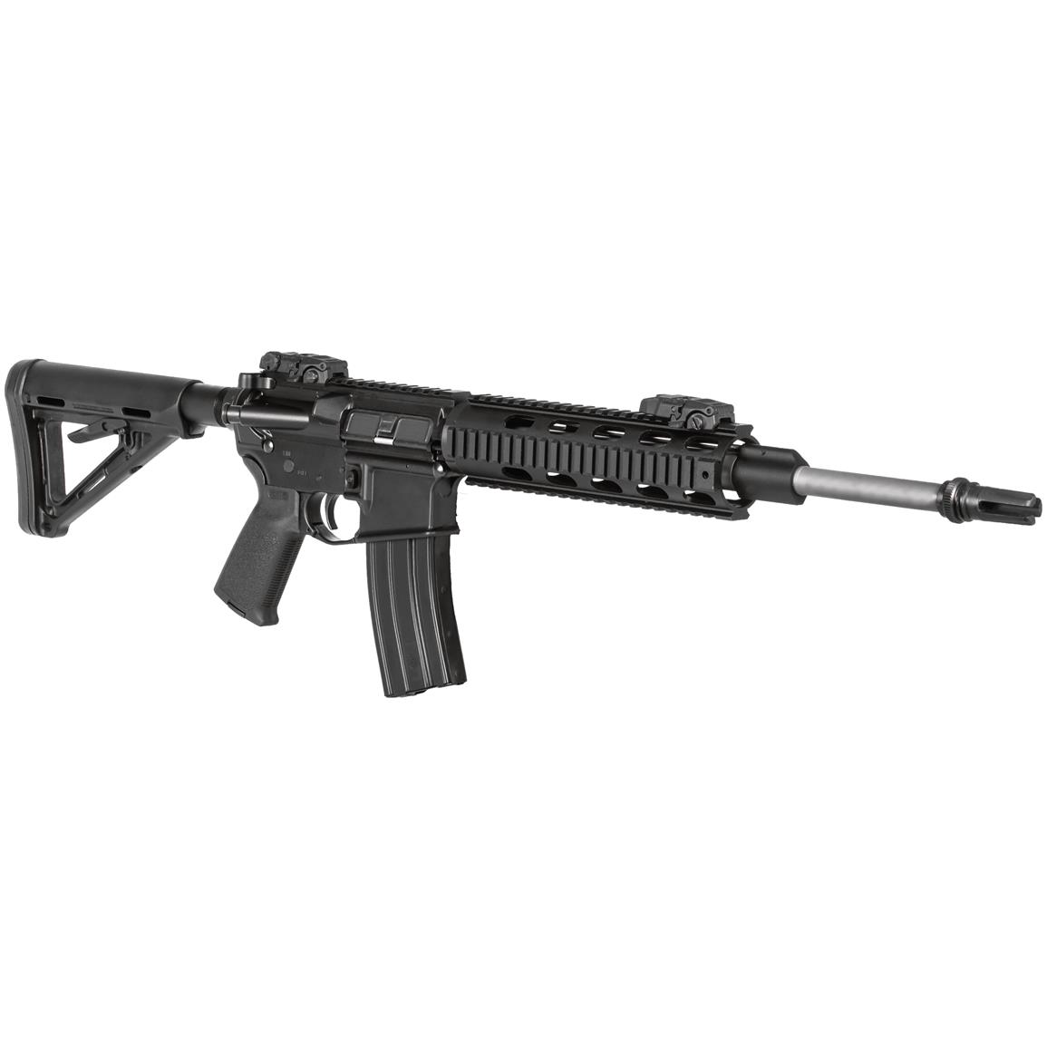 "DPMS Recon AR-15, Semi-Automatic, 5.56 NATO/.223 Remington, 16"" Stainless Heavy Barrel, 30+1 Rounds"