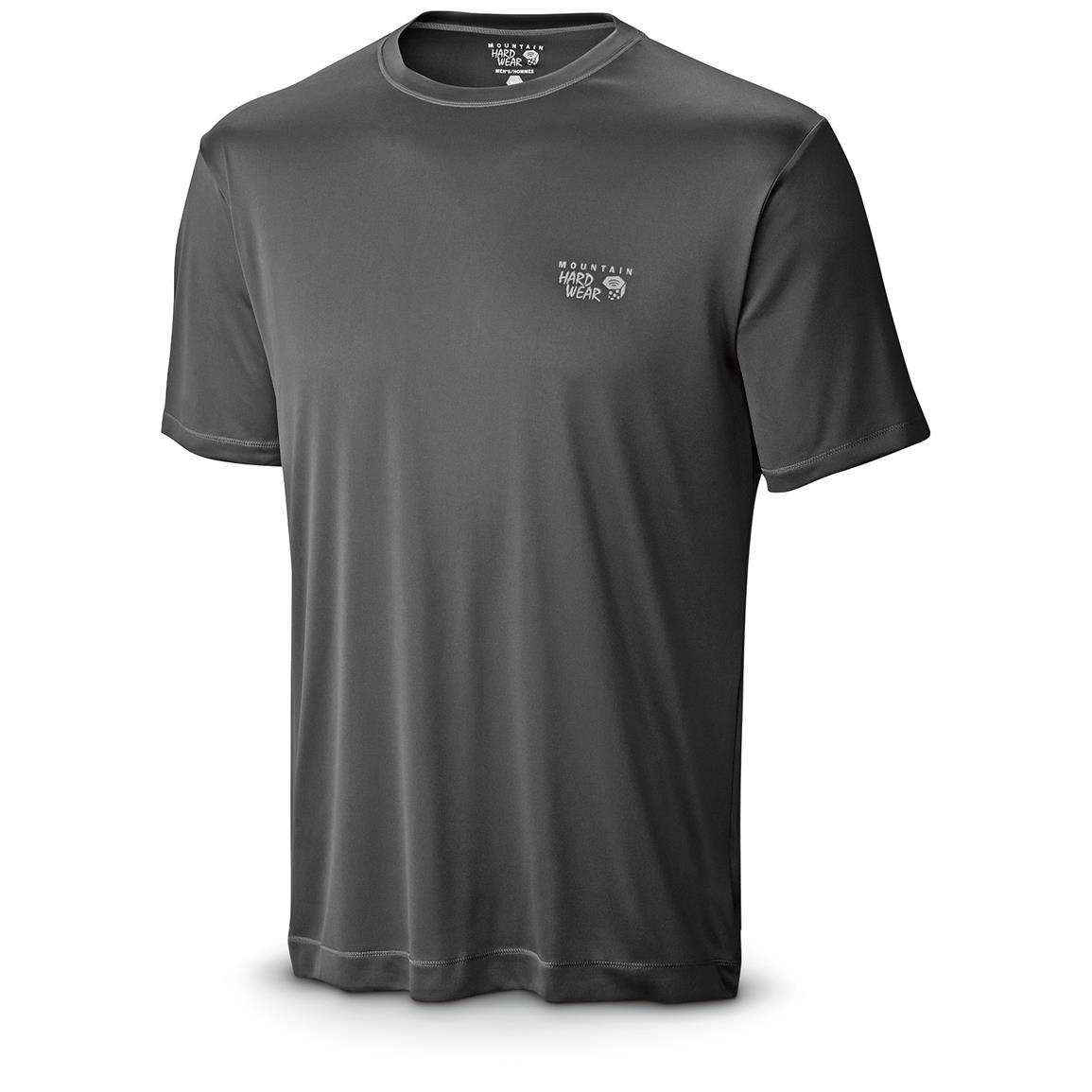 Mountain Hardwear Men's Wicked T-Shirt, Short Sleeved, Black Front