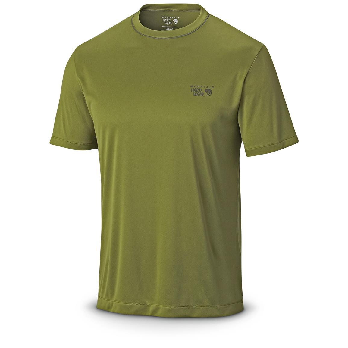 Mountain Hardwear Men's Wicked T-Shirt, Short Sleeved, Amphibian Front