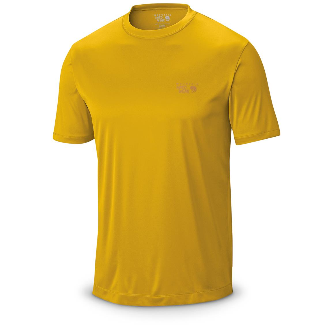 Mountain Hardwear Men's Wicked T-Shirt, Short Sleeved, Inca Gold Front