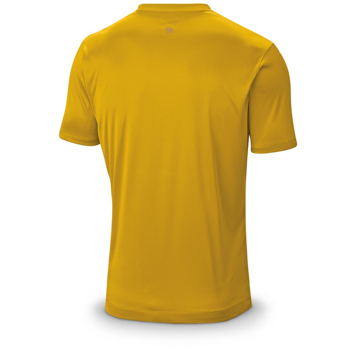 Mountain Hardwear Men's Wicked T-Shirt, Short Sleeved, Inca Gold Back